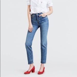 NWT Levi's Premium Wedgie High Rise Jeans